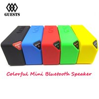 Wholesale Newest X3 OY Classical X3 S01 Mini Portable Wireless With Bluetooth HIFI Speaker Speakers TF Card Slot FM Radio with MIC High Quality color
