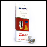 Cheap Authentic Mini Riptide Coils 0.5ohm Support 15-50W BVC Coils Fit With Vogue 50W Kit And Amigo FP50 Kit