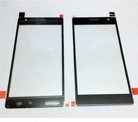 Wholesale Black Front Glass Lumia Glass Lens Outer Touch Screen For Nokia Lumia Glass Front Screen LCD Glass