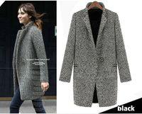 Wholesale Cashmere Wool Winter Jackets Women - 2016 New Arrival Hot Sale Women Winter Warm Lapel Trench Wool Cashmere Long Parka Coat Outwear Jacket