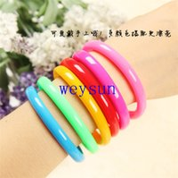 Wholesale Flexible Ball Pen Cute Bangle Bracelet Wristlet Circlet Ballpoint Pens School Office Supplies