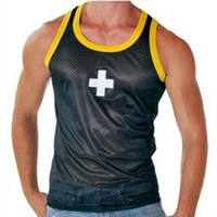 ac vest - AC Classic Sport Men s Tank Tops Summer Style Quick Dry Fitness Athletic Running Men s Vest AC16 On Sale