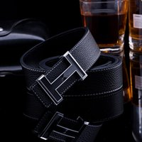 belts direct - 2016 cm Men Direct Selling Belts Embossing Authentic Mens Belt Leather Buckle Smooth Tuhao Gold Head Men s Skin H236