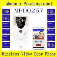 Wholesale Professional Smarthome HD P Wifi Wireless Video Door Phone Doorbell Intercom With GSM waterproof IP55 function D257a