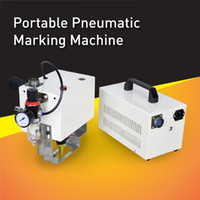 Wholesale Cost Effective Pneumatic Portable Dot Peen Marking Machine High Quality Dot Pin Marker With Small Engraving Head