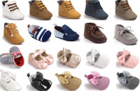 Wholesale 12 pairs l New style baby shoes Baby Timba Prewalkers Rustic Fashion Flock baby shoes baby sneakers many styles for choose