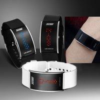 atm movement - New Led Watches with Blue Light Men Wristwatch Women Dress Watch ATM Waterproof Digital Movement Watch Relogio