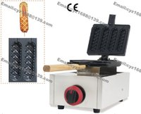 Wholesale Commercial Use Non stick LPG Gas Lolly Waffle Dog Stick Baker Maker Machine Iron
