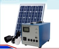 Cheap 10W Solar Power System Small Solar Mobile Power Generation System Users New Portable Home Appliances Double Charge Emergency Lights