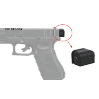 Wholesale Big Dragon Aluminum Tactical Back Plate For Glock Pistols Hangun