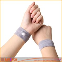 Wholesale 2Pcs Anti Nausea Wristbands Car Anti Nausea Sickness Reusable Motion Sea Sick Travel Wrist Bands