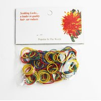 Wholesale 300pcs pack Trendy Transparent Rubber Band Women Girls Elastic Hair Band Tie Rope Fashion Hair Accessories