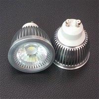 Wholesale 20pcs New Tech W GU10 Driverless LED Spotlight HV COB LED Dimmable Home Bulb Lamp AC200 V