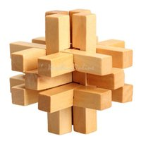 Wholesale Chinese Traditional Wooden Fourteen Lock Adult Children Puzzle Lock Toy K5BO