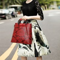 big logs - Women s fashion new retro national wind handbag Shoulder Messenger portable big bag of logs