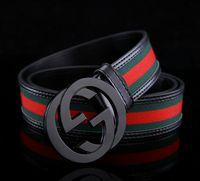 Wholesale brand original designer gold silver gg buckle belts men high quality mens belts luxury men designer leather ff belt free epacket shipping