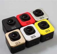 Wholesale Original SJCAM M10 WiFi Cube Mini Full HD Action Sport Camera M Waterproof G Glass Lens NTK96650 chipset AR0330 Sensor
