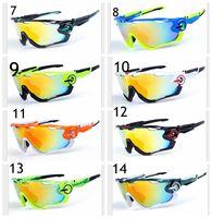 Wholesale High Quality Fashion JAWBREAKER Sports Sunglasses Polarized Women Men OO9270 Interchangeable Lens Jawbreaker Cycling Eyewear With Box
