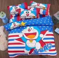Wholesale Cartoon Aloe Cotton Four Piece Bed Sheets Sets Of Student Sheet Children s Sheets Three Piece
