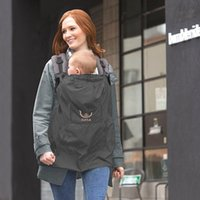Wholesale Baby sling waterproof cloak cloak rain belt holding wind effect is good throughout the year can be used