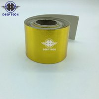 Wholesale Deeptech Self Adhesive Reflect A Gold Tape High Temperature Resistant Heat Shield Wrap Gold Tape inch ft Per Roll