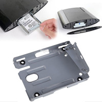 Wholesale PS3 Super Slim Hard Disk Drive HDD Mounting Bracket Caddy For Sony Screws Video Game G00279 SPDH