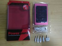 Wholesale High efficiency portable solar charger Dual USB battery energy chargers SOS help For Mobile