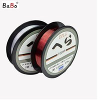 beach leader - 2016 High Quality M Daiwa Nylon Fishing Line Leader Strong Monofilament Fishing Line Red Clear Color