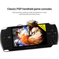 Wholesale handheld Game Console inch screen mp4 player MP5 game player real GB support for psp game camera video e book
