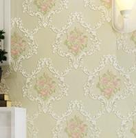 Wholesale European relief D deep embossed wallpaper living room wallpaper wallpaper wallpaper wallpaper