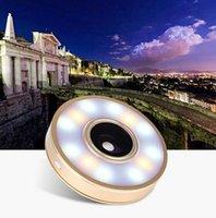 angle flashlight - Nana Mini Selfie Fill Light Portable Round Ring Spotlight Clip Phone LED Flash Lights Flashlight For Smartphone Fisheye Wide Angle Macro Len