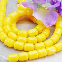 amber stones for sale - Hot Sale Imitation Beeswax Jewelry Amber Stone Loose Beads Yellow Opaque Resin Accessories DIY Beads mm For Women Girls Gift