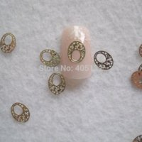 Wholesale MS Metal Gold Nail Art Metal Sticker Nail Art Decoration Fancy Outlooking Stickers amp Decals