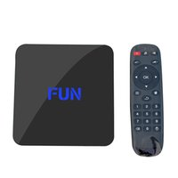 Wholesale 2016 New FUN BOX U1 K Movies Video KODI Full Apps Free Live IPTV Streaming Media Player Amlogic S905 Quad Core Android OTT TV BOX