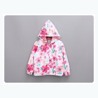 Wholesale Children Tench Coats Baby Clothes Coat Winter Baby Kids Clothes Coats Girl Christmas Warm Fashion Childrens Clothing Jackets