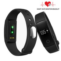 Wholesale Bluetooth Fitness Bracelet Smart Bracelet Smartband Heart Rate Monitor Wristband Fitness Tracker smart watch for Android iOS