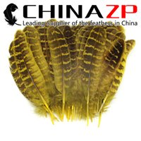 best hens - CHINAZP Factory Cheap Best Quality Dyed Yellow Ringneck Hen Pheasant Round Quill Wing Feathers for Cloth Accessories