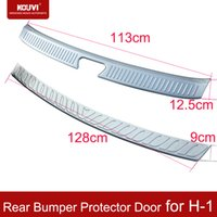 Wholesale KOUVI hight quality tiguan Stainless Steel Rear Bumper Protector Door for Hyundai H