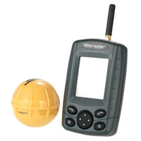 Wholesale Portable Wireless Sonar Sensor Fish Finder Outdoor KHz Fishing Finder Fish Depth Alarm Detector Fishing Tackle Fishfinder