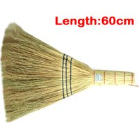 Wholesale IN BUSINESS High quality brooms with solid and firm material really good broomcorn and hard straw sweepers with a better price
