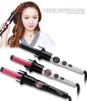automatic dryer - 2 in Curling Hair Nanometer Titanium Ceramic Automatic Hair Curler Professional Curling irons Hair Styler Tools Magic Stlyling Tools