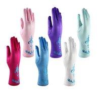 Wholesale Baby Kids girls party gloves Accessories cartoon Frozen Finger Gloves birthday decoration glove printing glove Frozen Princess