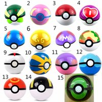 abs king - 15 kings Ball Figures ABS Anime Action Figures PokeBall Toys Super Master Ball Toys Pokeball Juguetes CM TOY