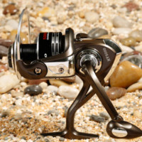 Wholesale Fishing Reel Spinning Reel Full Metal XY500010 BB saltwater Spinning Wheel Fly Fishing Carretilha Pesca daiwa like