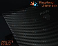 Wholesale KH Laptop Special Carbon Crocodile Snake Rust Leather Cover Sticker Skin Protector For Asus G73 quot
