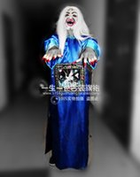 ancient chinese robes - Chinese Demon Qing Dynasty Robes New Halloween Zombie Costumes Chinese Ancient Robes jiangshi