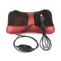 Wholesale Multifunction Car Shoulder Neck Shiatsu Massager Pillow Infrared heating Vibrating Massage Cushion Headrest With