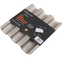 baking rack for oven - 2016 Hot Baking Tools For Cakes French Bread Pan Oven Rack With Cake Bakeware Small Wave Low Prices The High Quality