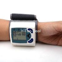 Wholesale OEM Automatic Digital Wrist Blood Pressure Monitor Heart Beat Meter