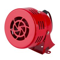 Wholesale New Red V Automotive Air Raid Siren Horn Car Truck Motor Driven Alarm Hot Selling